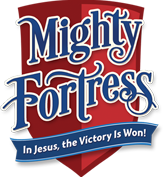 Liguori Mighty Fortress Logo