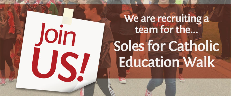 Soles Walk for Education, Saturday October 21, Join us!